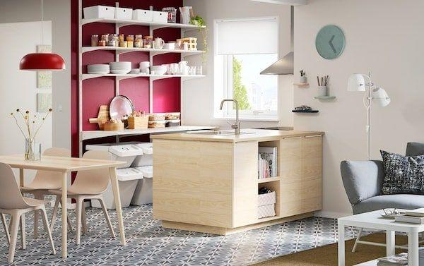 Kuchnia Dostosowana Do Twojej Przestrzeni I Portfela Ikea Kitchen Design Kitchen Remodel Design Scandinavian Modern Kitchens