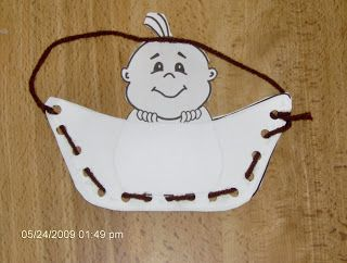 baby moses crafts for preschool | Template can be found here: http://www.daniellesplace.com/html/Bible ...