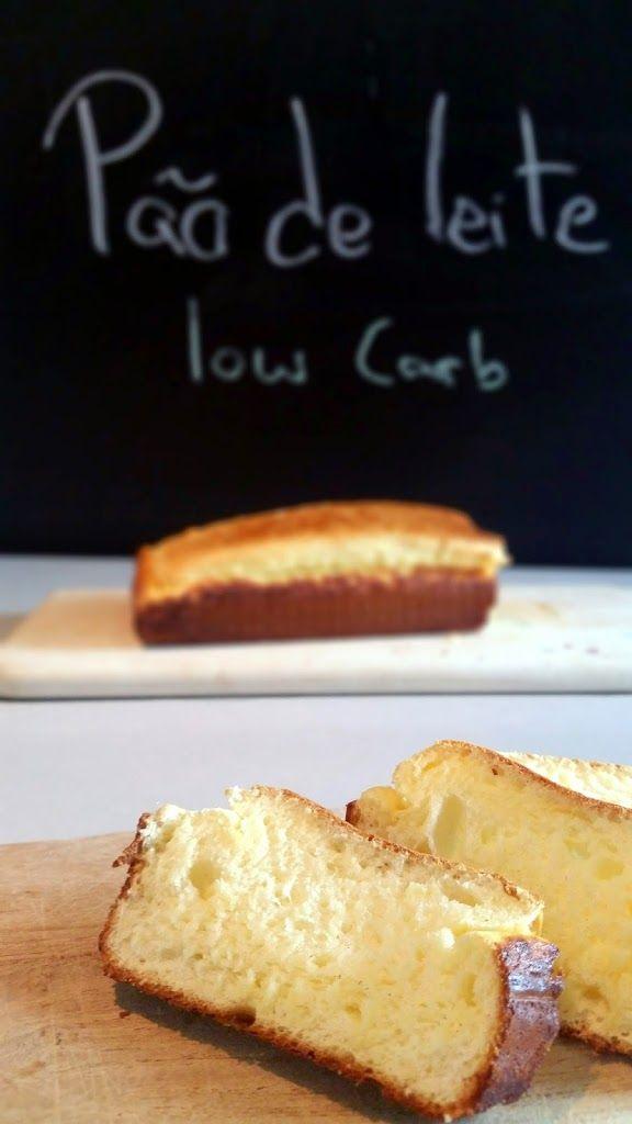 Pão de leite low carb - Isi Life