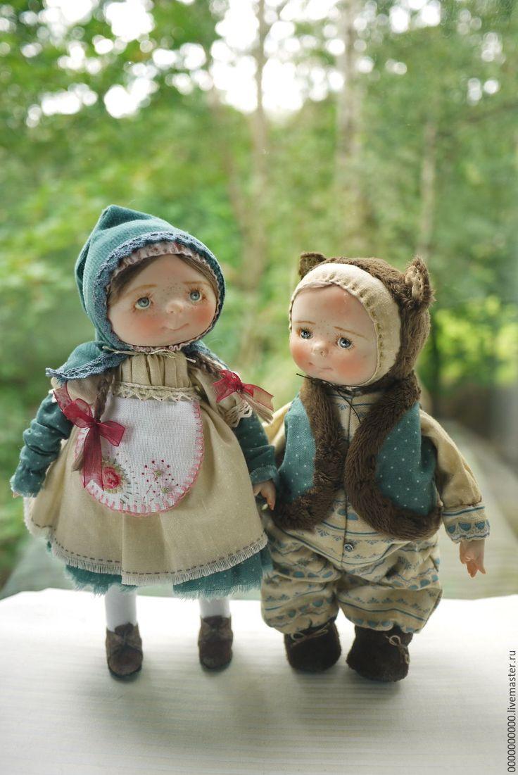 Купить Майя - авторская кукла купить, кукла авторская, ЛивингДолл, ткань хлопок