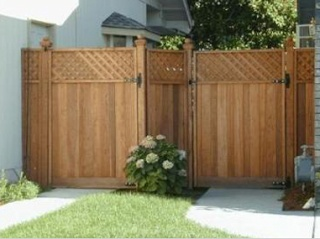 some wood fence design for your home exterior house paint - Home Fences Designs