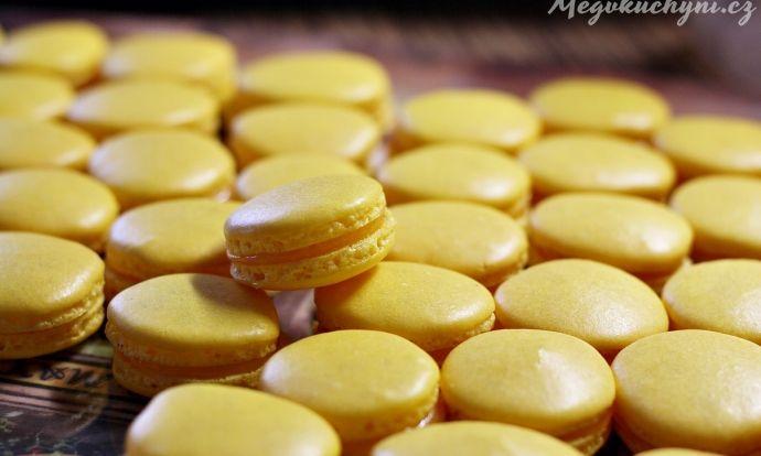 Citronové macarons