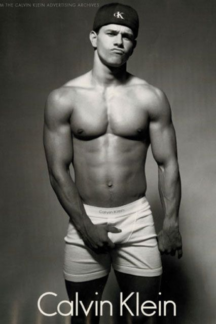 From Wahlberg To Bieber: A Calvin Klein Underwear Retrospective-Mark Wahlberg, shot by the legendary Herb Ritts in 1992