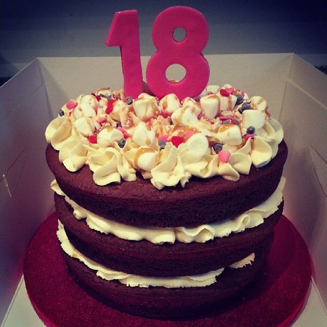 The 55 Best 18Th Birthday Cakes Images On Pinterest -4561