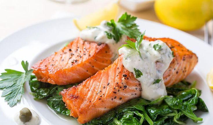 Op zoek naar het lekkerste Ovengebakken zalm met Griekse yoghurt en dille recept? Ontdek de recepten van Becel ProActiv en start vandaag met het verlagen van het cholesterol!
