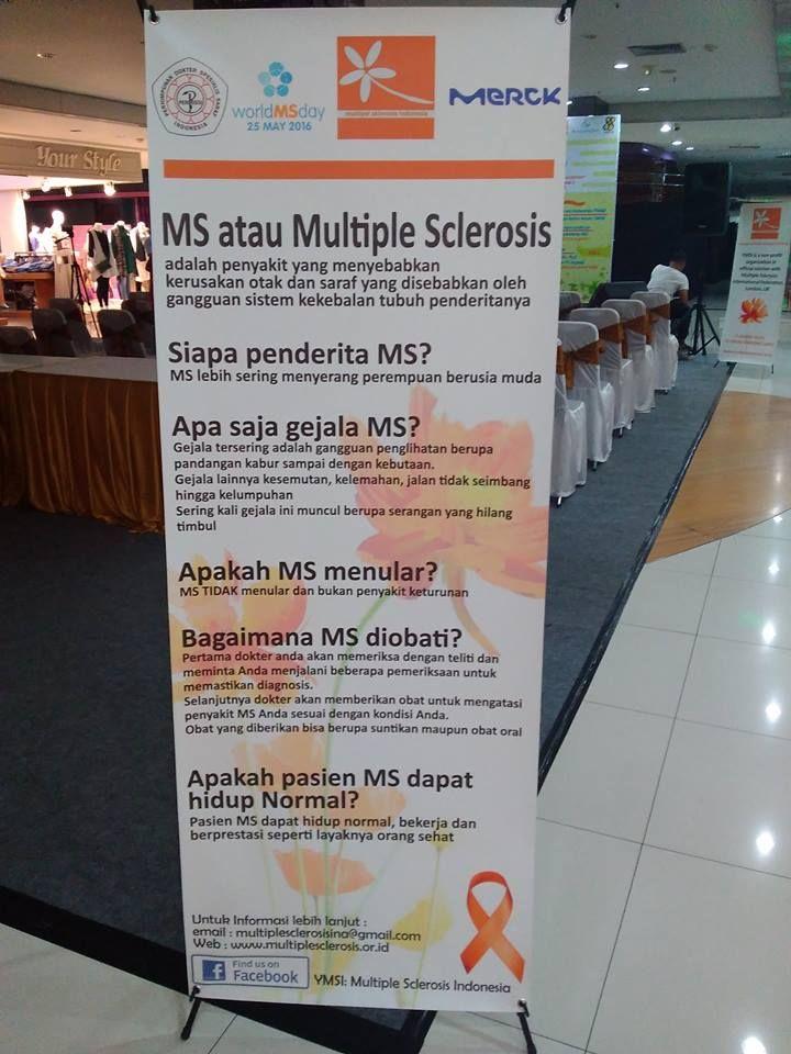 "Ada yang unik dari World MS (Multiple Sclerosis) Day. Biasanya ""hari-hari sedunia"" diperingati di tanggal yang sama setiap tahunnya, tetapi tidak demikian dengan"