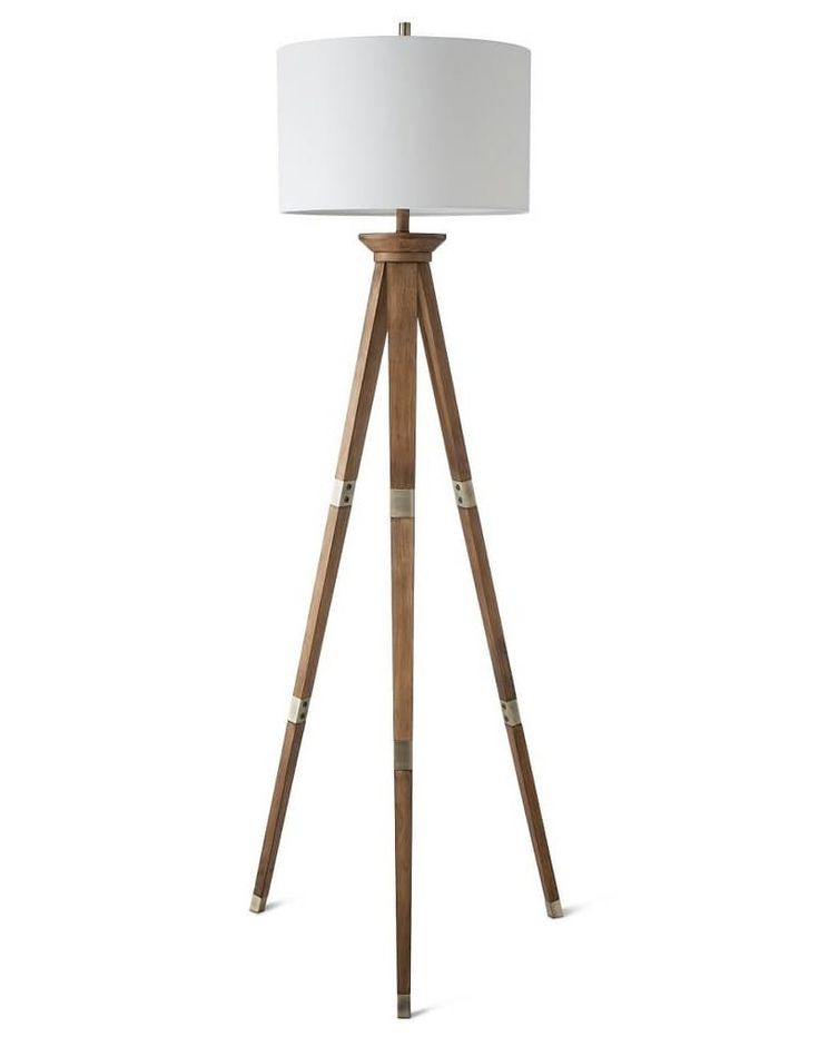 Oak Tripod Floor Lamp at Target, $79.99 Give your home some classic nautical flare with a lamp that reminds me of a sextant and has a crisp, clean style.