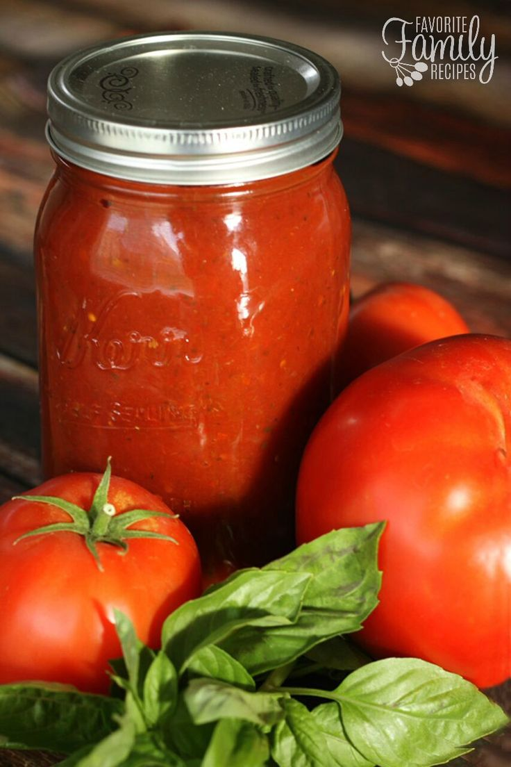 Canned Spaghetti Sauce is FAR better than anything you can find in a store. You'll love the rich, savory flavor. The best way to use fresh garden tomatoes!