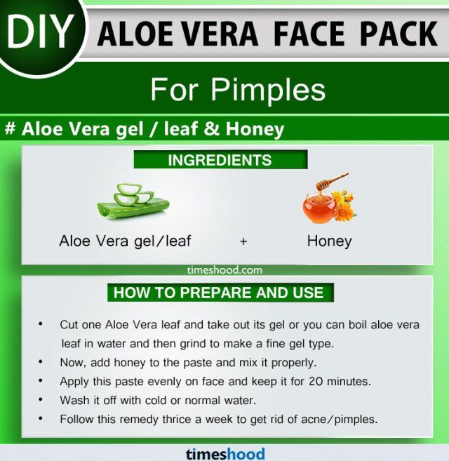 Aloe Vera Face Pack for Pimples. Aloe Vera gel, leaf, and Honey face mask. Aloe vera face mask for acne. Aloe vera uses for skin remedies. Aloe vera face mask diy acne scars. 15 more Aloe vera face mask for skin care via Timeshood.com