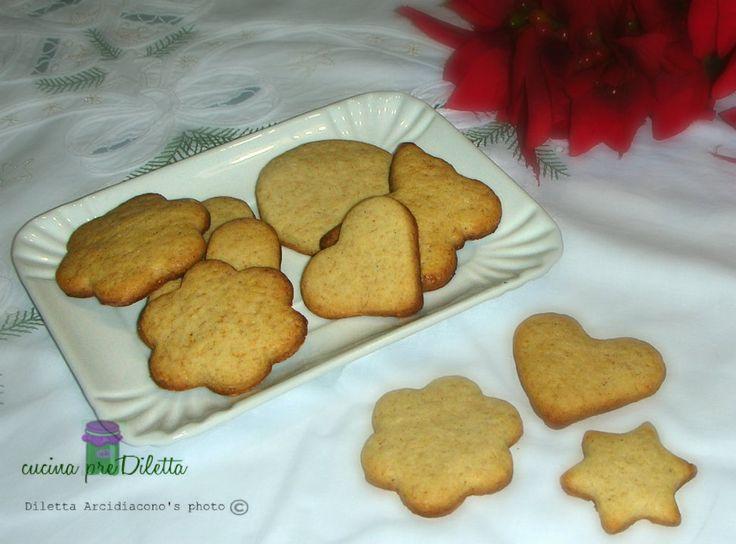 Biscotti alla cannella - ricetta biscotti speziati   cucina preDiletta
