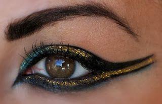 Millan meikkipaletti: Kleopatra meikki / Cleopatra makeup                                                                                                                                                                                 Mehr