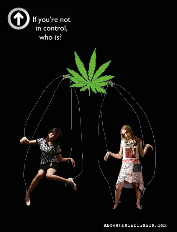 """teenagers above the influence """"above the influence"""" (ati) was a national social marketing campaign to reduce and prevent teen marijuana use by persuading teens that substance use is part of the larger world of negative influences that affect them."""