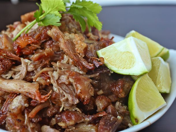 Carnitas.  The Mexican answer to American pulled pork, at their best they should be moist, juicy, and ultra-porky with the rich, tender texture of a French confit.