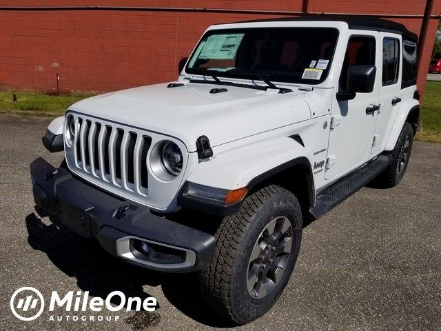 Take A Look At The New 2018 Jeep Wrangler Unlimited Sahara 4x4 For