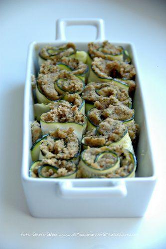 Detto fatto: rotolini di zucchine al tonno - Al cibo commestibile