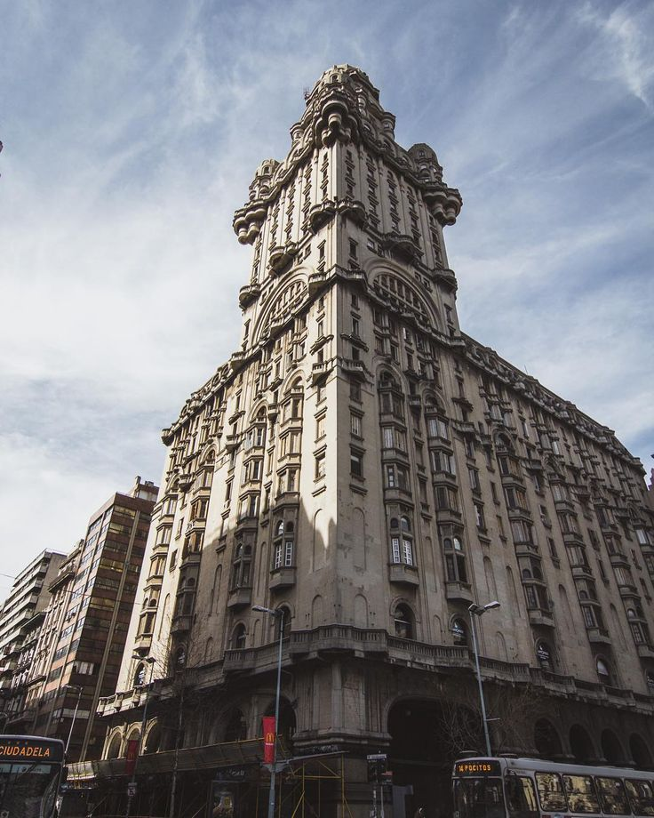 Palacio Salvo  Montevideo   #architecture #building #architexture #city #buildings #skyscraper #urban #design #minimal #cities #town #street #art #arts #architecturelovers #abstract #lines #instagood #beautiful #archilovers #architectureporn #lookingup #style #archidaily #composition #geometry #perspective #geometric #pattern
