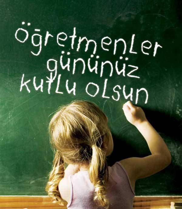 Dünyanın her yerinde öğretmenler, toplumun en fedakar ve saygıdeğer insanlarıdır.   Mustafa Kemal Atatürk