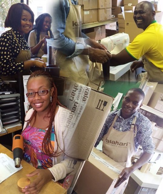 All your Kalahari products are carefully hand packed by our dedicated warehouse team.