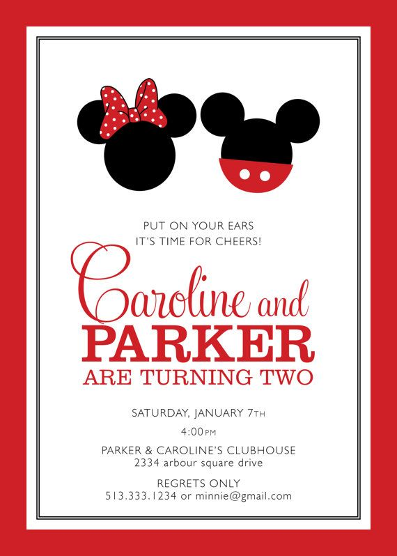 38 best Mickey and Minnie Party images on Pinterest Birthday party