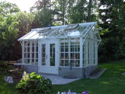 A very desirable greenhouse