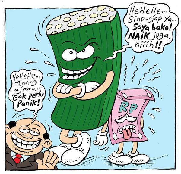 Mice Cartoon, Rakyat Merdeka - Maret 2015: Gak Perlu Panik!