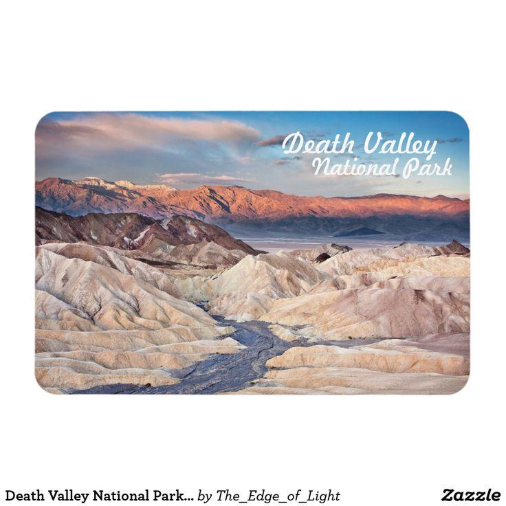 Death Valley National Park Zabriskie Point View Magnet