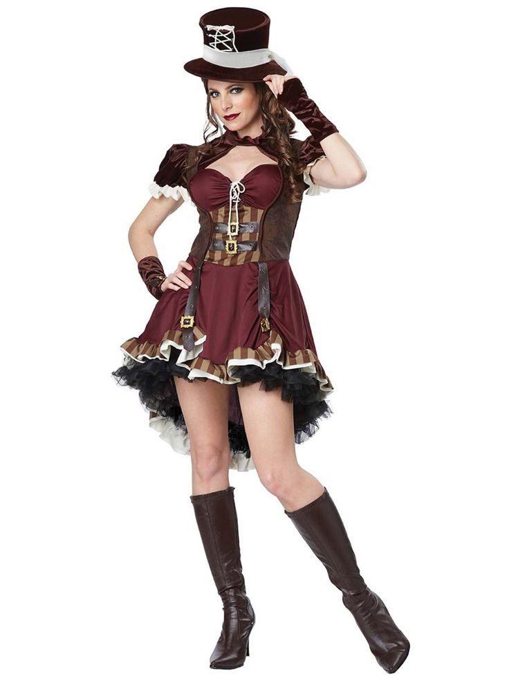 Disfraz Steampunk Mujer DF247