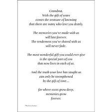 1000 Ideas About Grandmother Poem On Pinterest