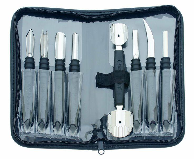 Amazon.com: Messermeister 9 Piece Garnishing Tool Set: Kitchen & Dining
