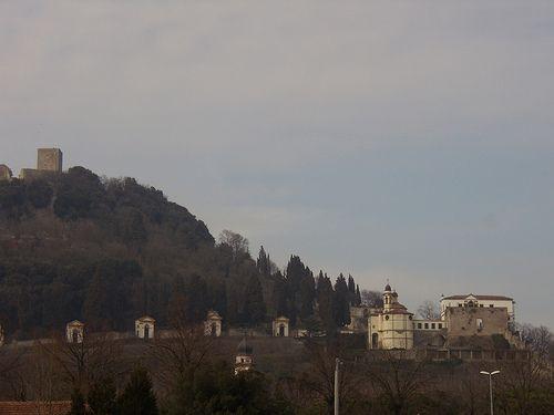 Santuario sette chiesette  - villa Duodo - Rocca - Monselice  #TuscanyAgriturismoGiratola