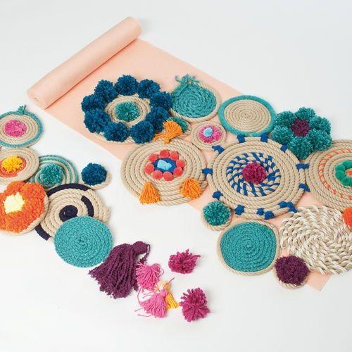 Manualidades con cuerda para decoración boho-chic