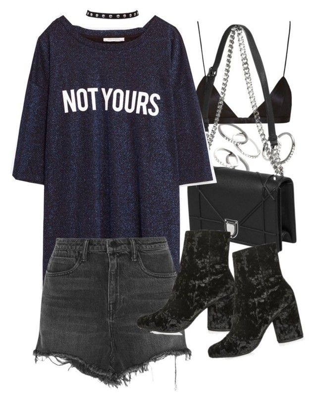 """""""Untitled #20454"""" by florencia95 ❤ liked on Polyvore featuring MANGO, NYX, Alexander Wang and Topshop"""