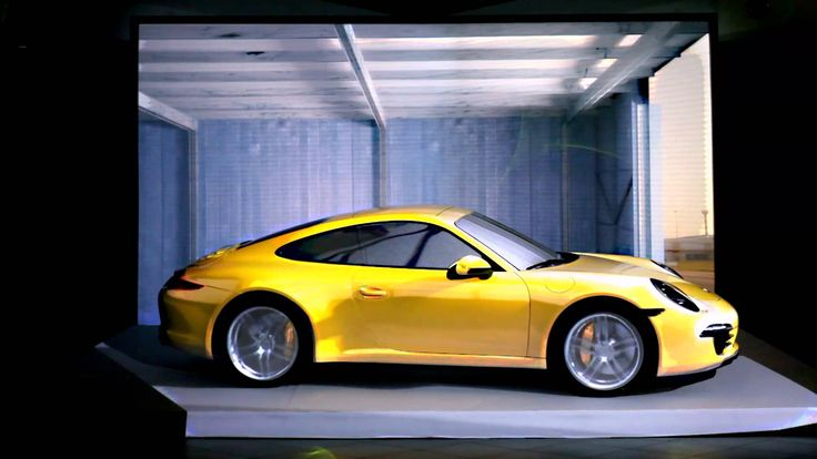 """Car mapping projection on the new Porsche 911 Carrera 4S by DrawLight, for """"Porsche Padova Centre"""" (IT) for the presentation of the new model, which was unve..."""