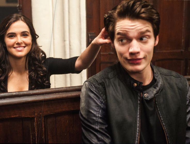Behind the scenes of Vampire Academy: Blood Sisters - Zoey Deutch (Rose) and Dominic Sherwood (Christian)