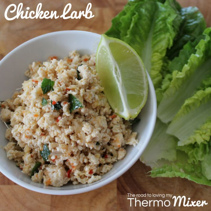 Chicken Larb