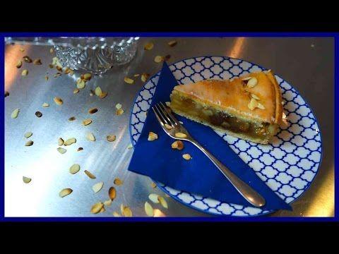Gedeckter Apfelkuchen - Klassischer Apfelkuchen mit Mürbeteig und Rosine...