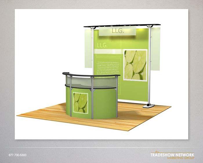 Portable Exhibition Booths : Portable trade show booth display