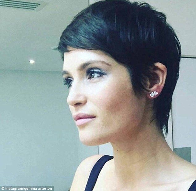 Since hitting the big time as Strawberry Fields in 2008 Bond film Quantum Of Solace, Gemma Arterton has usually favoured a longer hair style in her natural brunette colour.