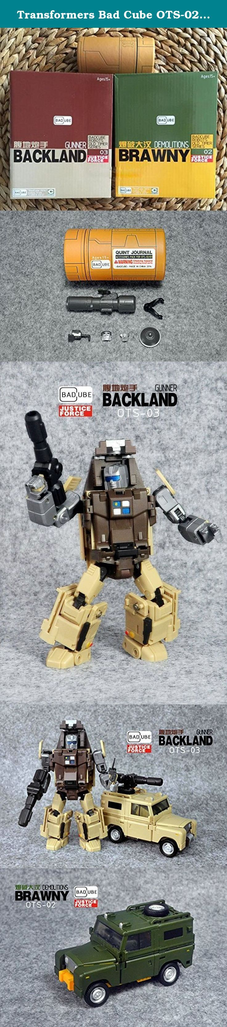 Transformers Bad Cube OTS-02 Brawn OTS-03 Outback Action Figure. (1)The import duties, taxes are not included in the item price or shipping charges and these charges are under the responsibility of the buyers. Therefore, please contact the customs office of your country to confirm these extra costs before the purchase. (2)Because there are several procedures during the international shipping process, like the customs, they might open the packages to check the security, if you find there's…