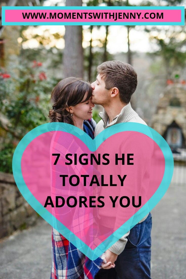 7 signs a guy likes you