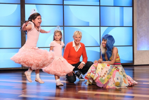 Sophia Grace and Rosie meet Nicki Minaj