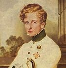 """Napoléon II, was the son of Napoleon I and his second wife, Marie Louise of Austria. He was widely known in France as """"the Eaglet"""". When his father abdicated on 4 April 1814, he named his son Emperor, but the coalition partners that had defeated Napoleon refused to acknowledge his son as successor, so he was forced to abdicate unconditionally a week later. Although he never actually ruled France, he was the titular Emperor and he is still generally referred to by historians as Napoleon II."""