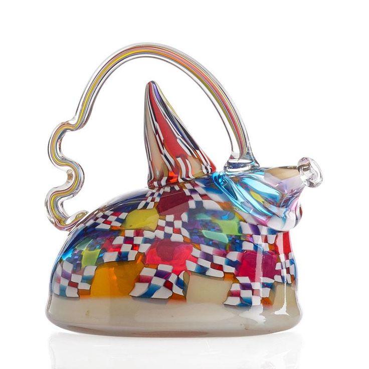 RICHARD MARQUIS Crazy Quilt Teapot - Price Estimate: $3000 - $4000