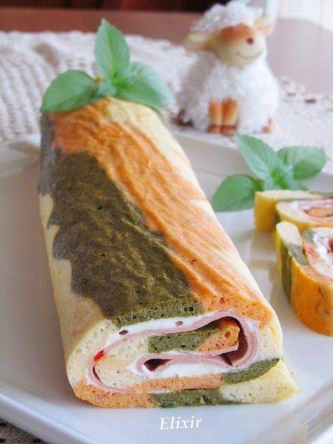 Кулинарен еликсир: шареното руло на Пепи