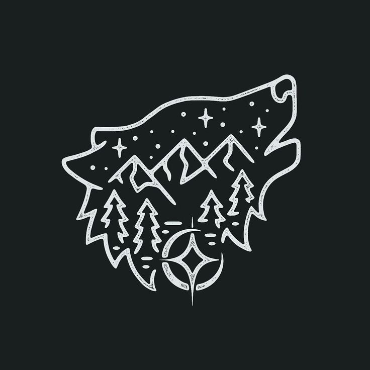 3,286 отметок «Нравится», 33 комментариев — Liam Ashurst (@liamashurst) в Instagram: «Got to do another one of these wolf/mountain scenes, really fun!  #graphicdesign #design #art…»
