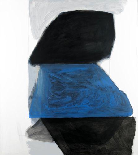 Michael Cusack  Manders, 2012  Mixed media on linen, 180 x 160 cm