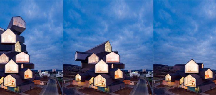 GIFs malucos animam obras de grandes arquitetos