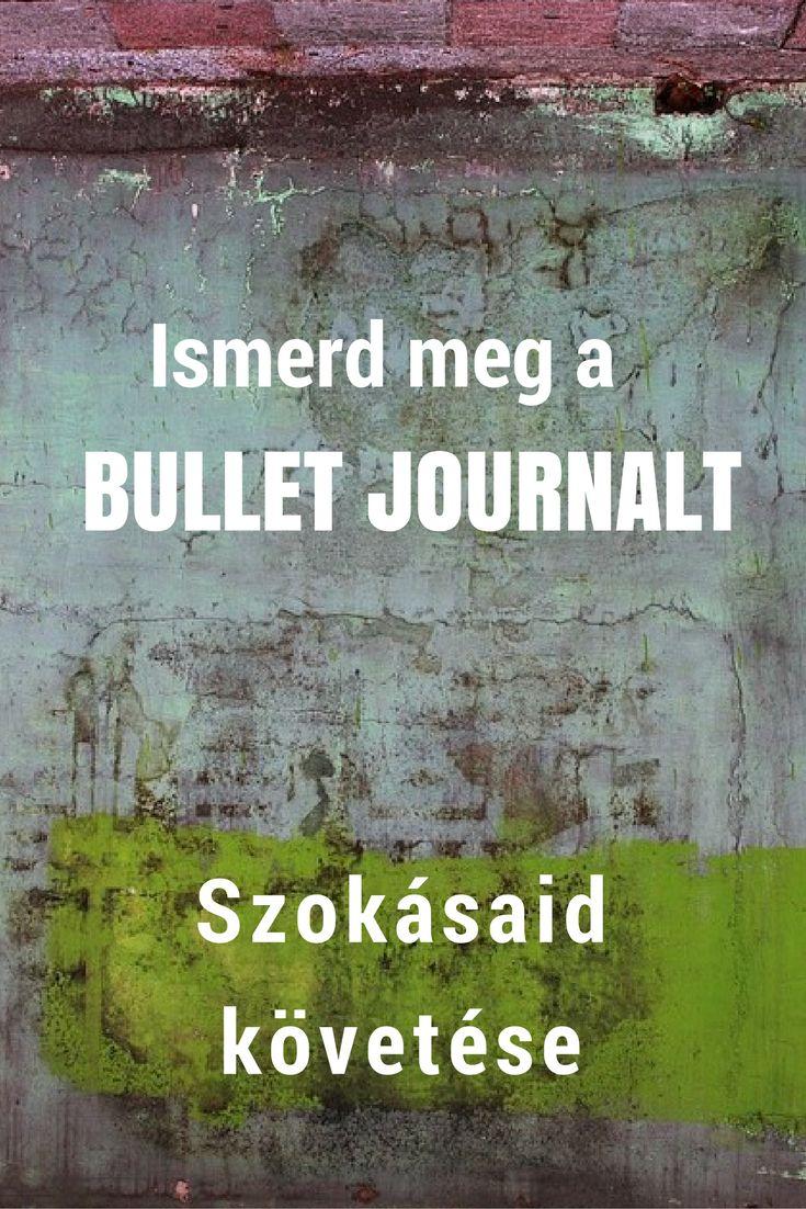 bullet journal | magyar ismertető  | szokásaid nyomon követése