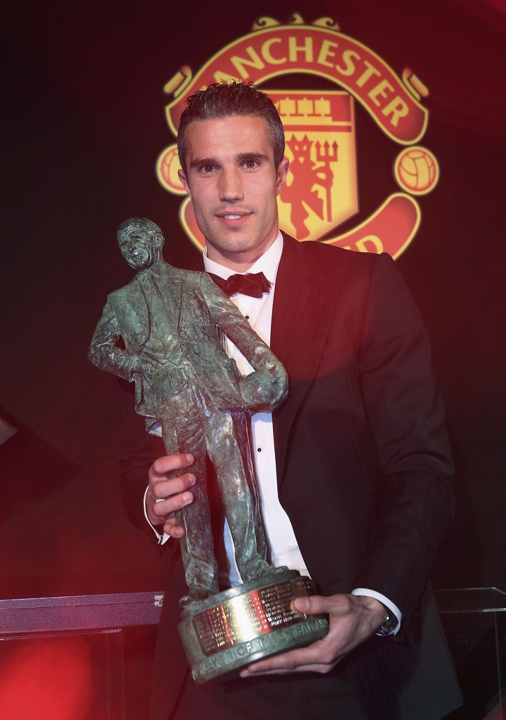 @manutd's Robin van Persie became the Sir Matt Busby fans' Player of the Year in 2013 following his stellar displays during the campaign.
