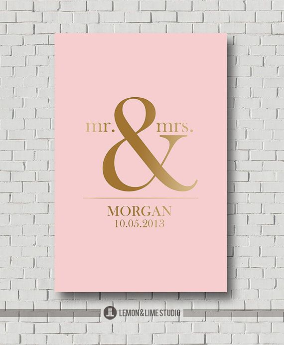 Wedding Gift  Gold and Sparkle Wedding Guest by MarshmallowInkLLC